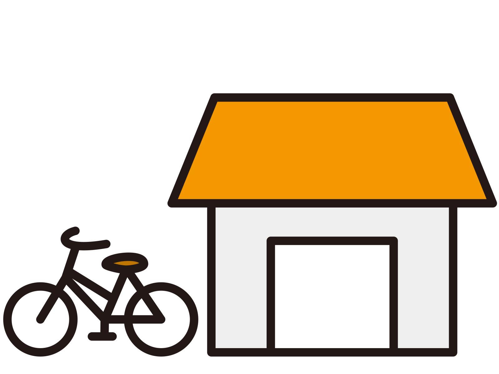 【リフォーム事例】サイクルポート修復