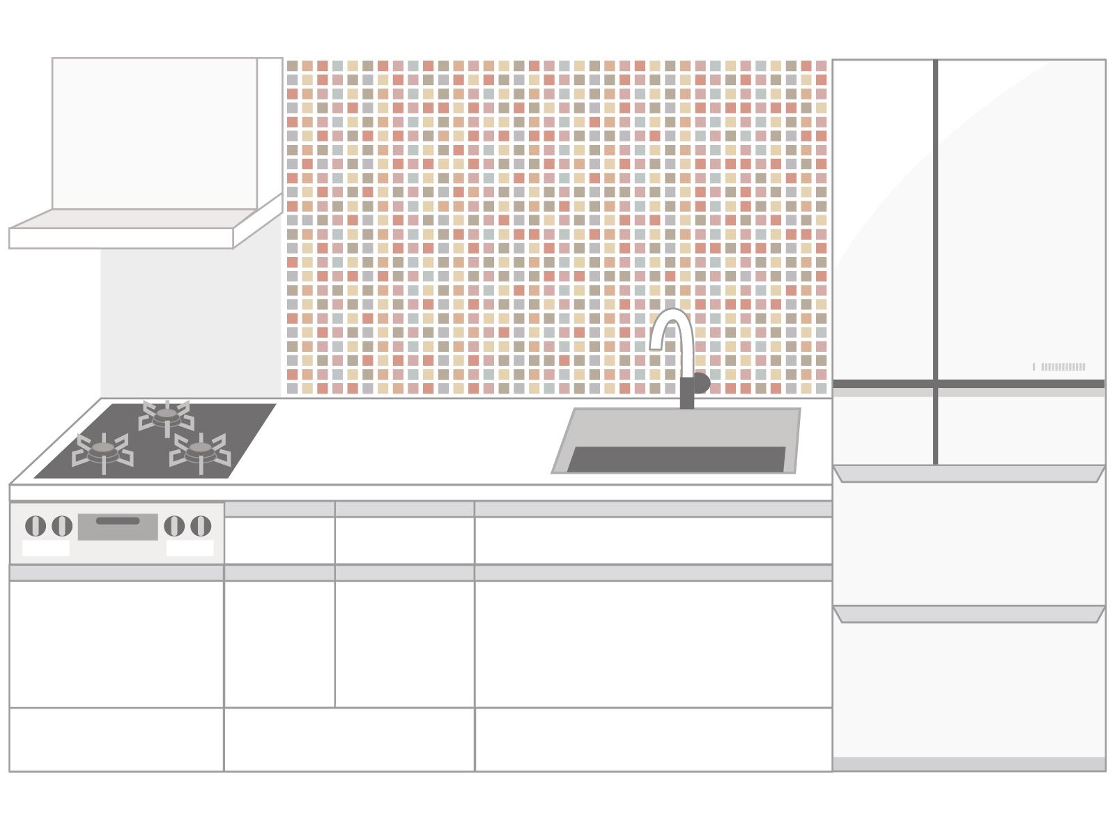 【リフォーム事例】集合住宅キッチンリフォーム