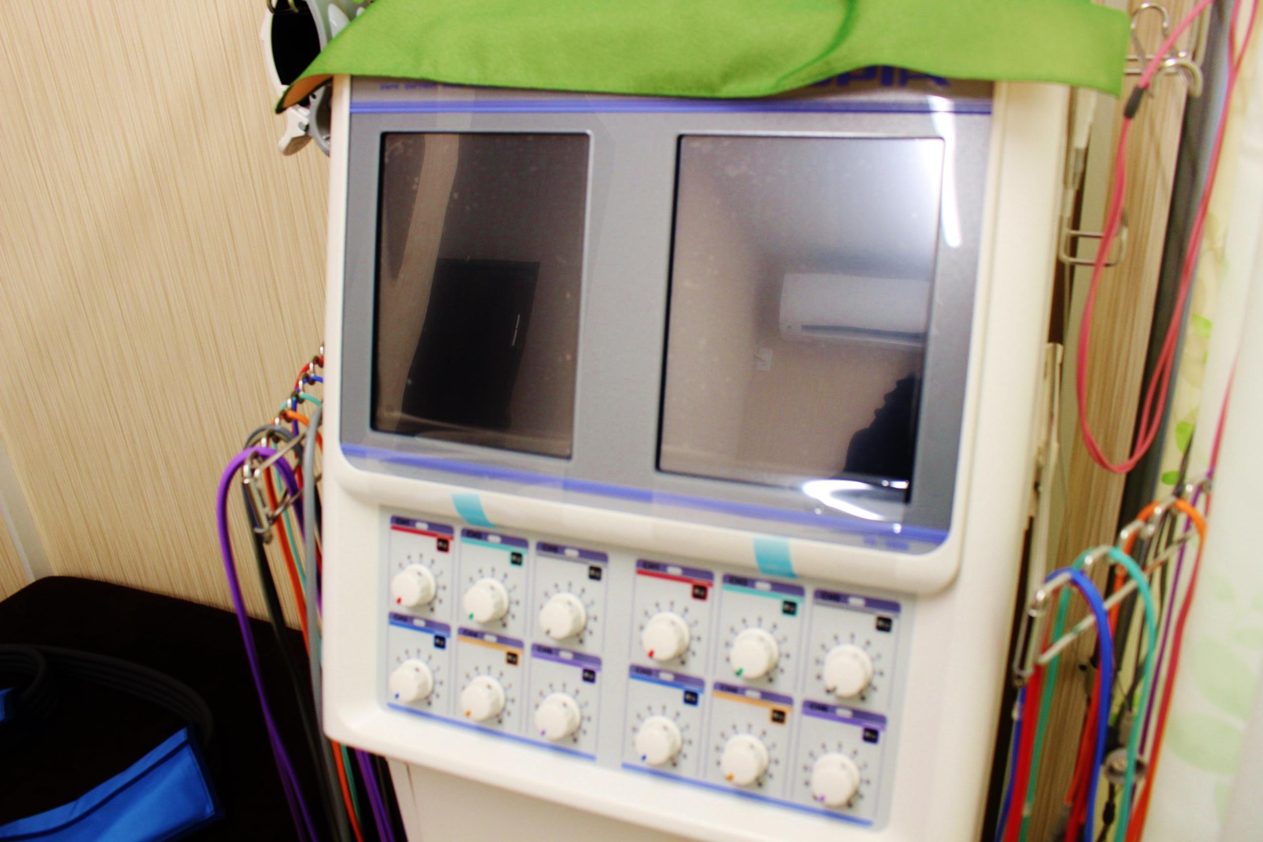 高性能電気治療器