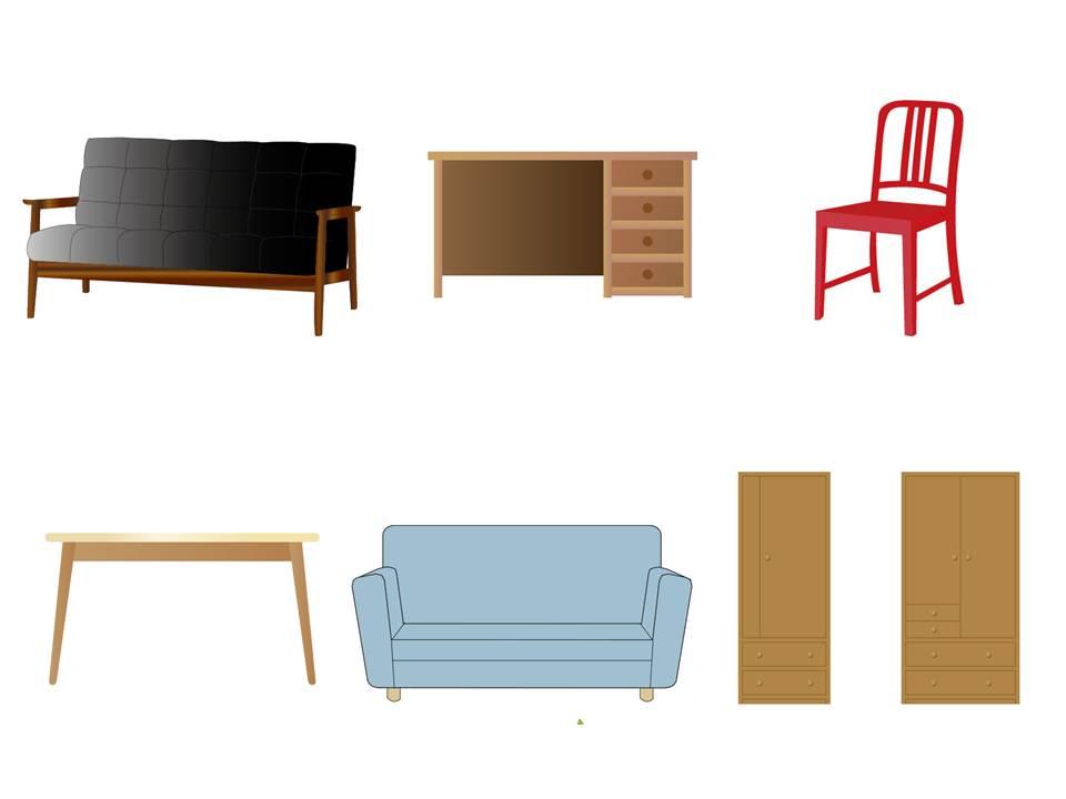 空き家整理の買取品目:家具