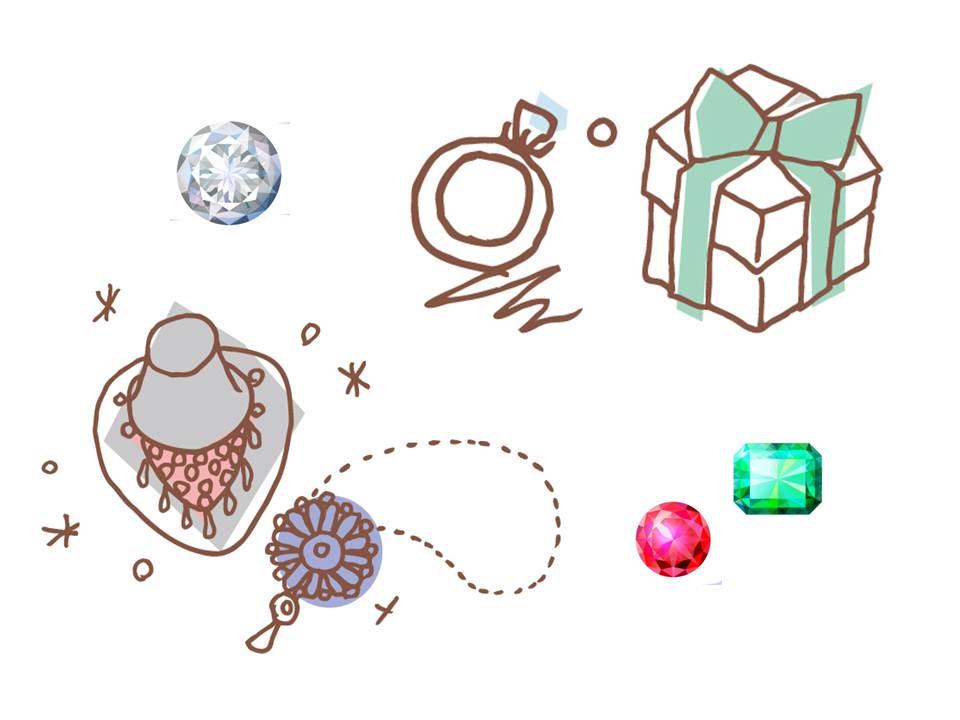 空き家整理の買取品目:貴金属・宝石・ジュエリー
