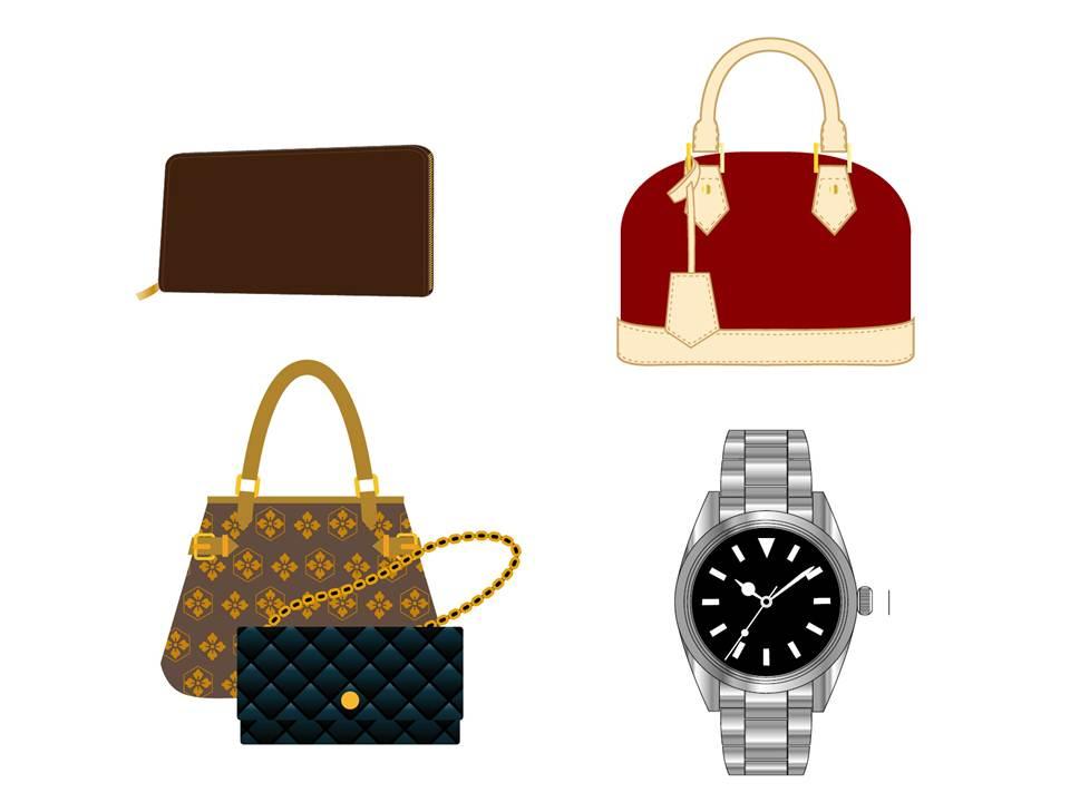 空き家整理の買取品目:ブランド品