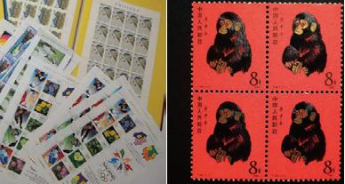 切手(未使用/外国切手)・中国切手・特殊切手・封書・ハガキ