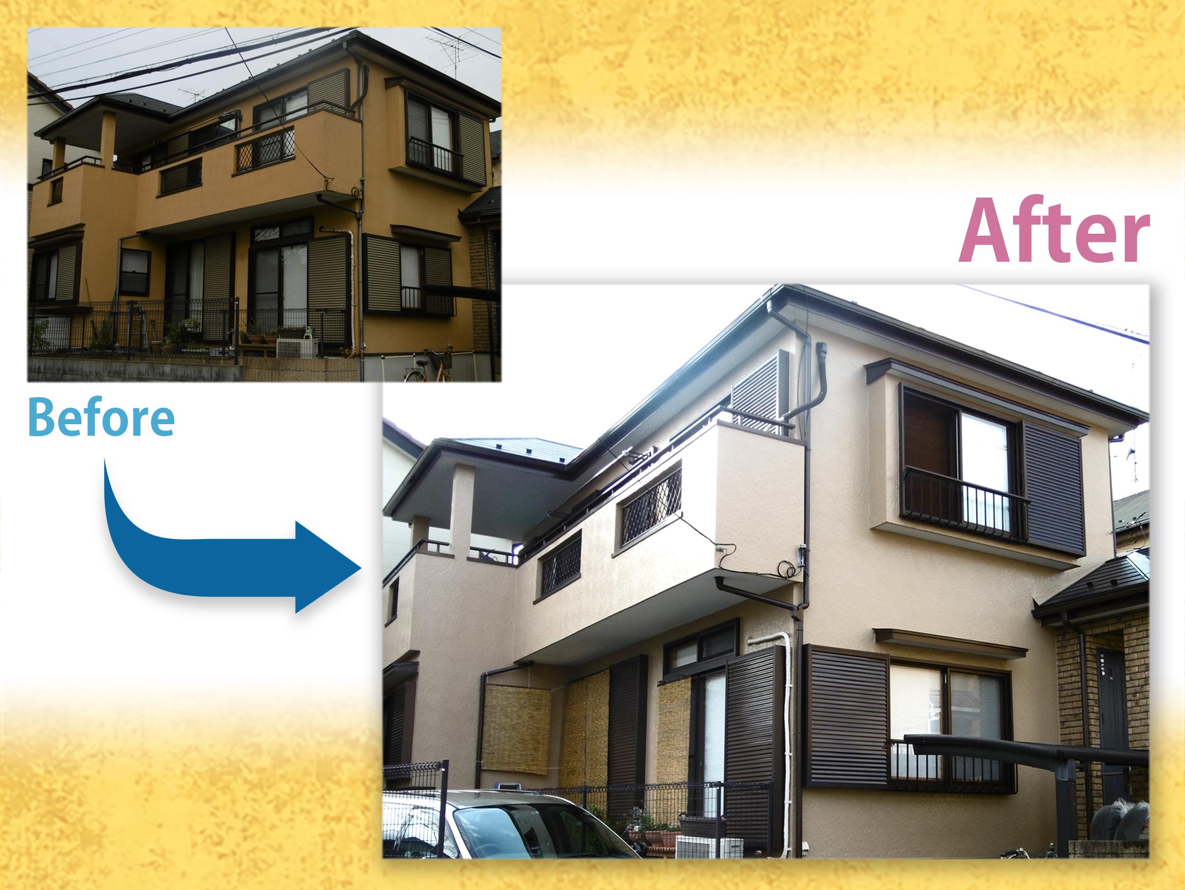 【施工事例】外壁・屋根塗装S様邸