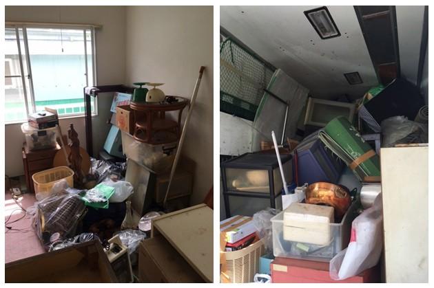 【不用品回収事例】テレビ台・タンスなどの家具、冷蔵庫・レンジなどの家電