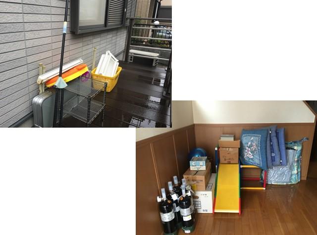 【不用品回収事例】ソファー・ソファーベット・AV機器・収納ケース・布団・座布団