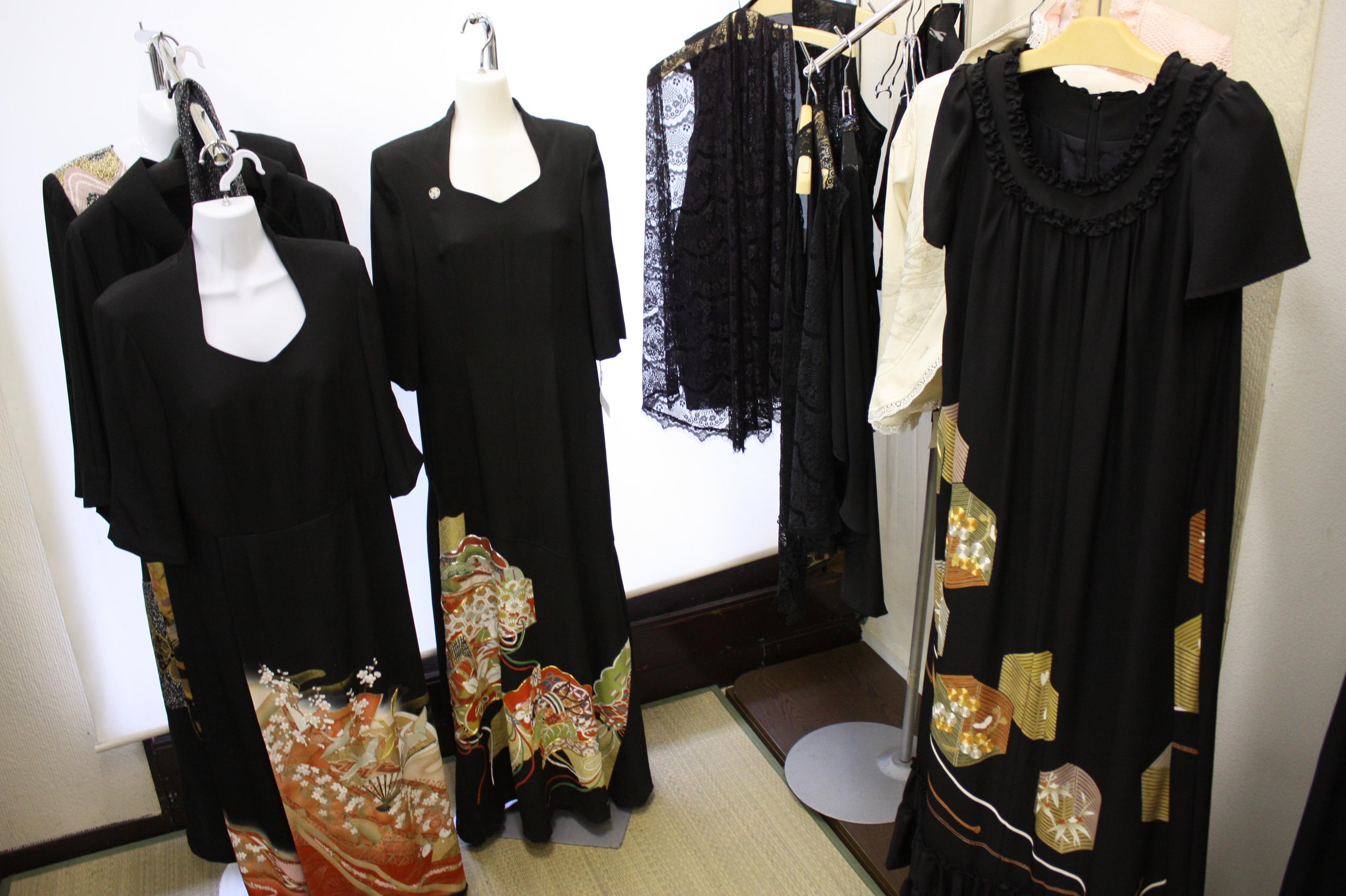 【リメイク】留袖ドレス