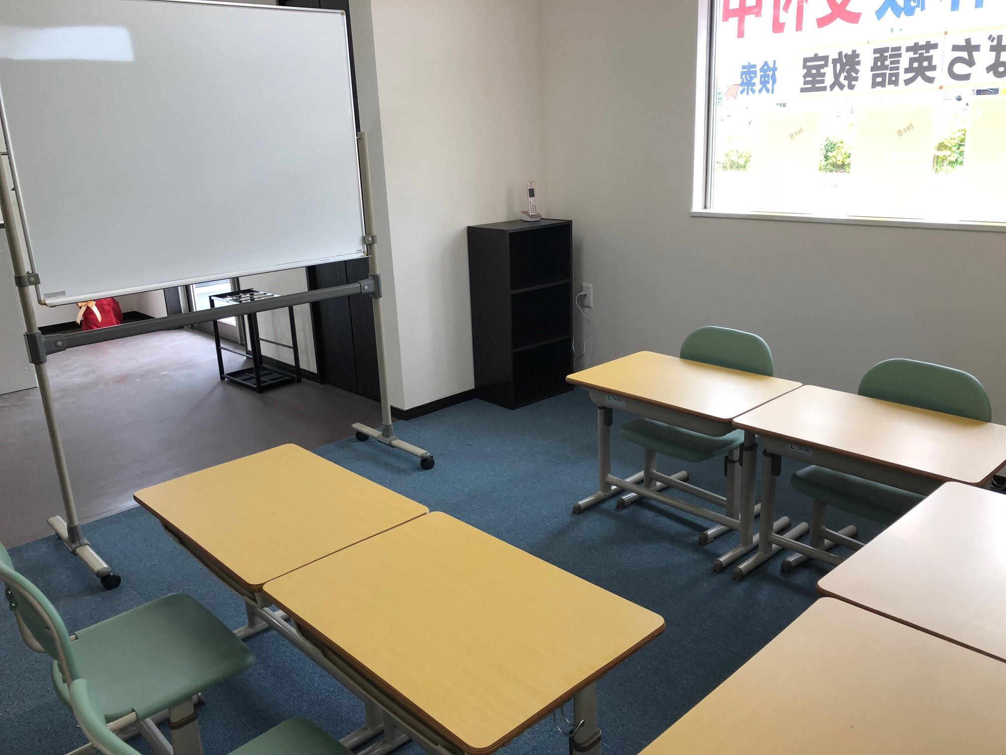 教室準備バッチリです!みんな来てね!