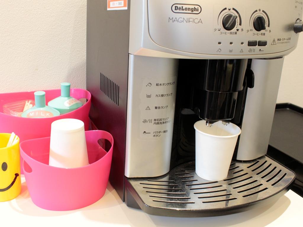 お待ちいただいてる間など、コーヒーはいかがですか