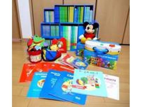 幼児教材 ディズニー英語システムのフルセットなどを出張買取/京都府宇治市