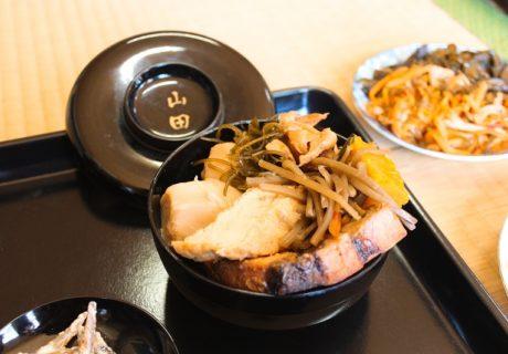 千葉県山武郡芝山町山田地区に伝わるあらい祭りの神の食