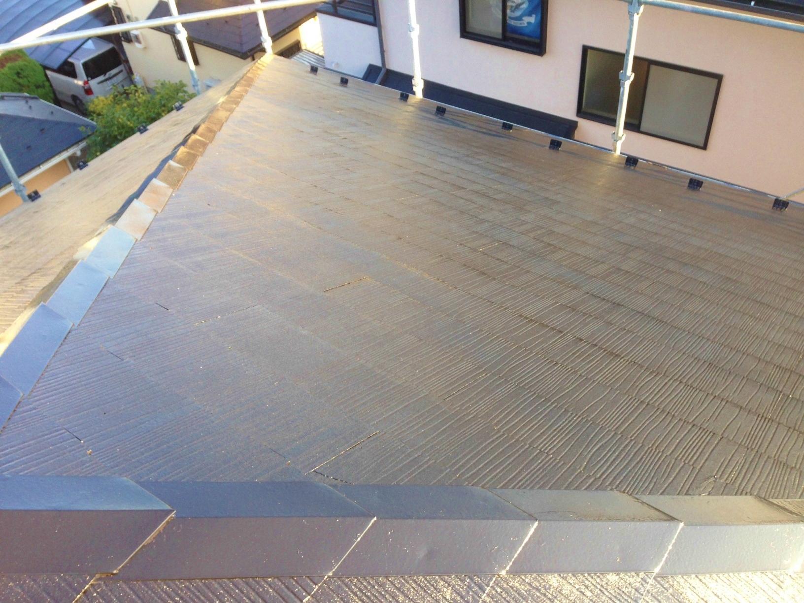 ⑤屋根完工