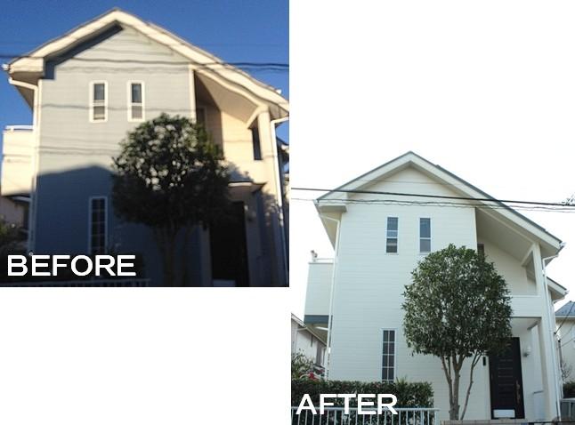 施工事例(C邸/佐倉市)外壁屋根塗装
