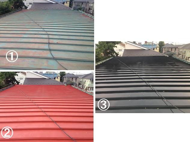 施工事例(D邸/習志野市)屋根塗装
