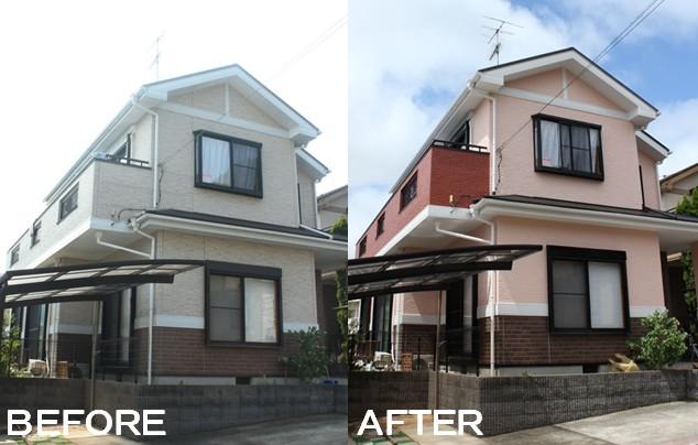 施工事例(A邸/佐倉市)外壁屋根塗装