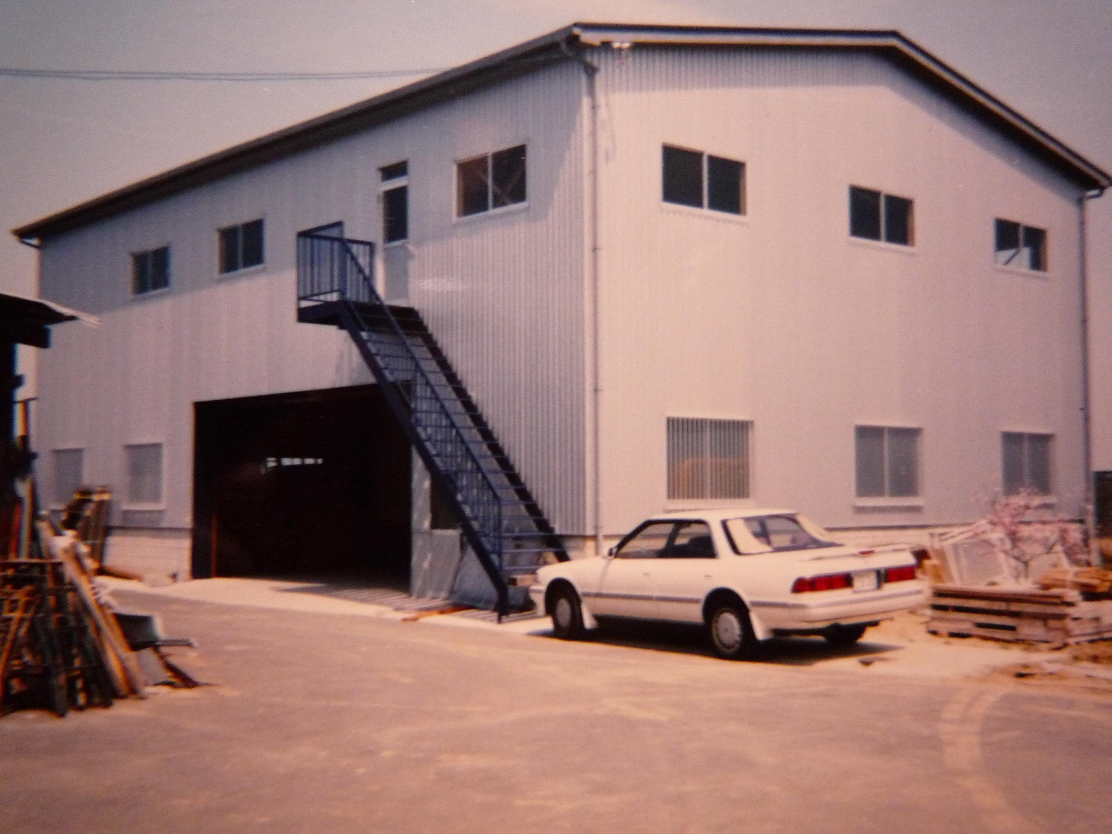 創業時のALLAGI(谷上工務店時代)の社屋