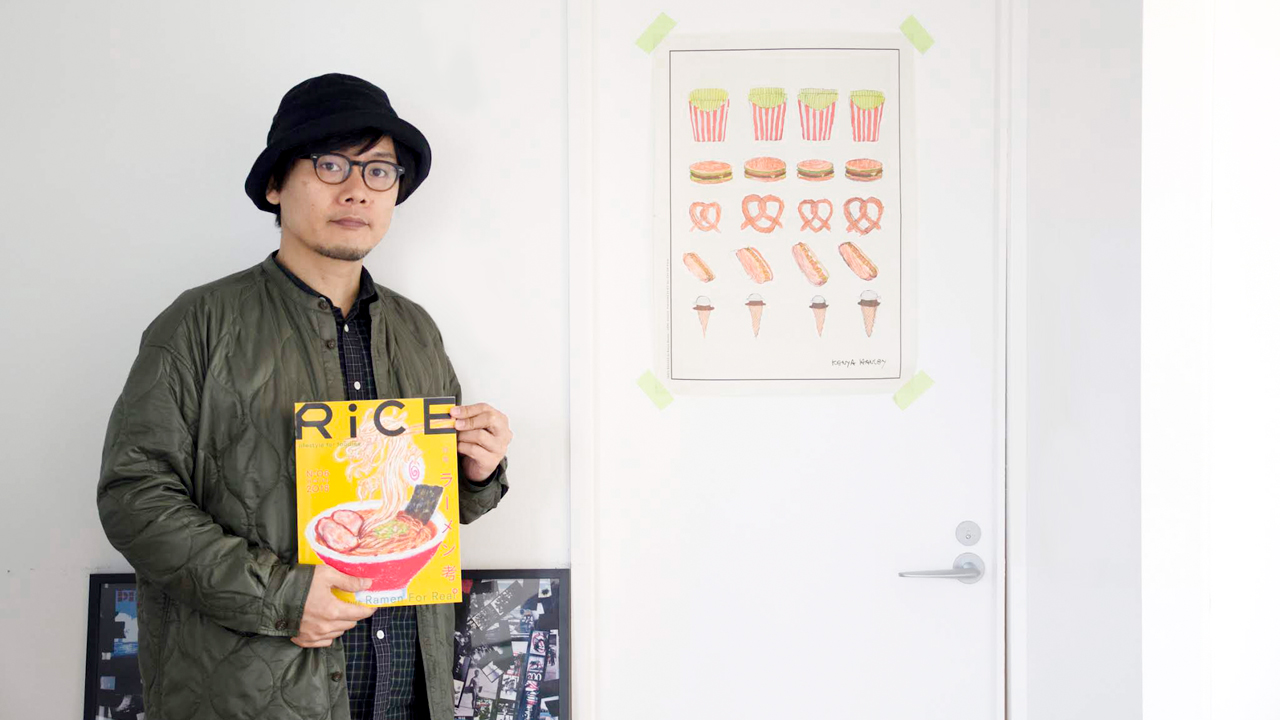 "Interview with Hiroshi Inada, editor of RiCE magazine  ""Why is Food Culture Becoming So Important These Days?"""