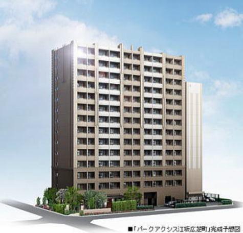 パークアクシス江坂広芝町 建物画像1