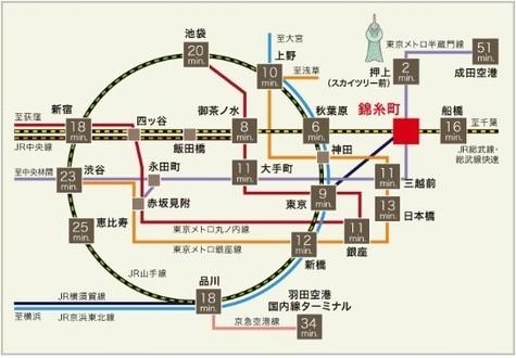 パークアクシス錦糸町レジデンス 建物画像2