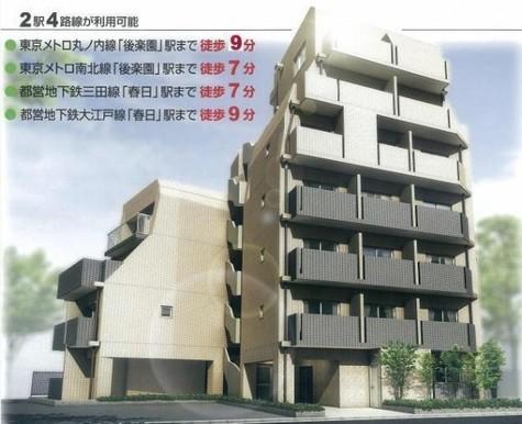 ドルチェ文京小石川 建物画像3