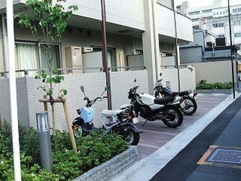 ■バイク置場