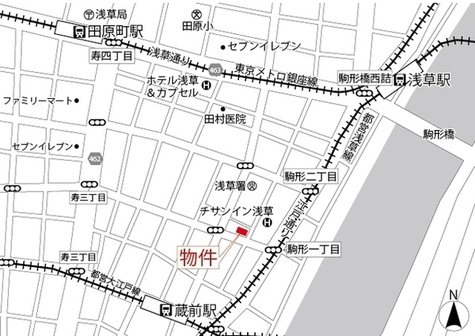 MAISON ASAKUSA G2(メゾン浅草G2) 建物画像3