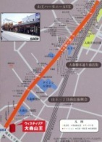 ウィスティリア大森山王 Building Image3