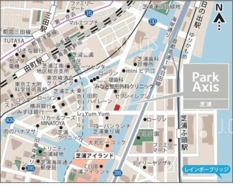 パークアクシス芝浦(Park Axis芝浦) 建物画像4
