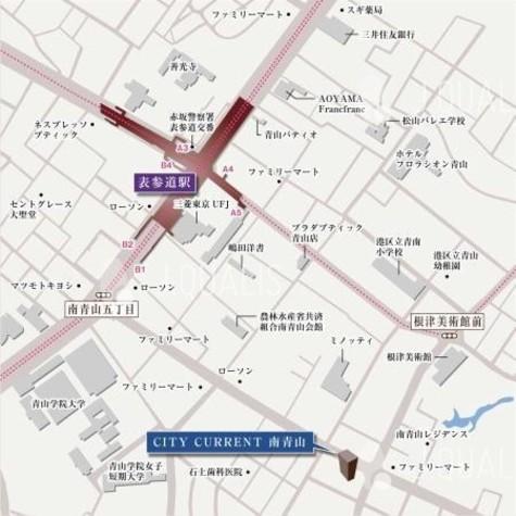 シティカレント南青山 建物画像4