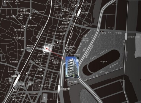 プレミアムキューブ大森(PREMIUM CUBE大森) 建物画像4