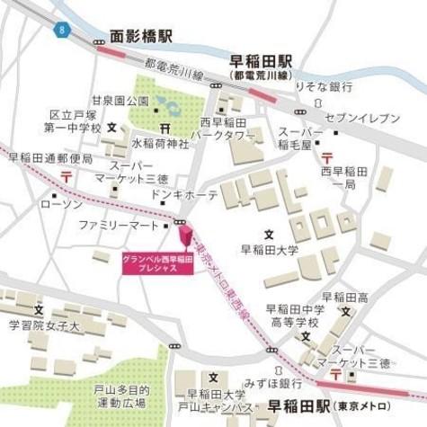 グランベル西早稲田プレシャス 建物画像4