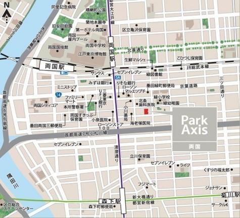 パークアクシス両国 建物画像5