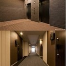 エレベーターホール&内廊下
