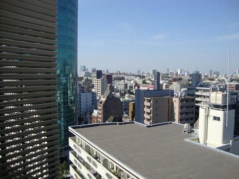 14階踊り場からの眺望