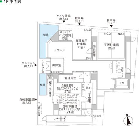 パークアクシス上野松が谷 建物画像5