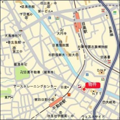 クレヴィアタワー目黒不動前 建物画像5