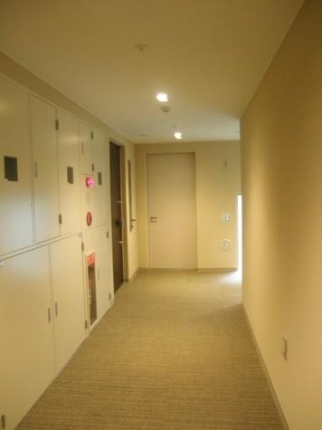 高級感のある内廊下