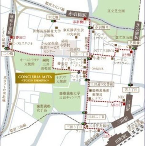 コンシェリア三田 <TOKYO PREMIUM> 建物画像7