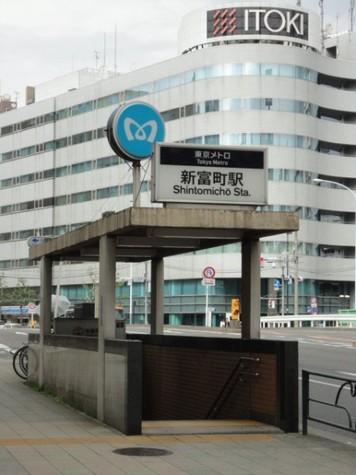新富町 5分マンション 建物画像8