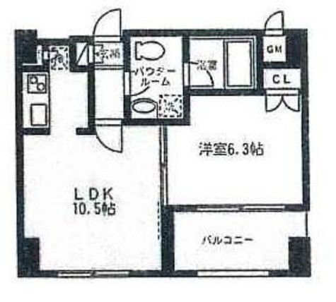 リブレ東新宿 / 16階 部屋画像1
