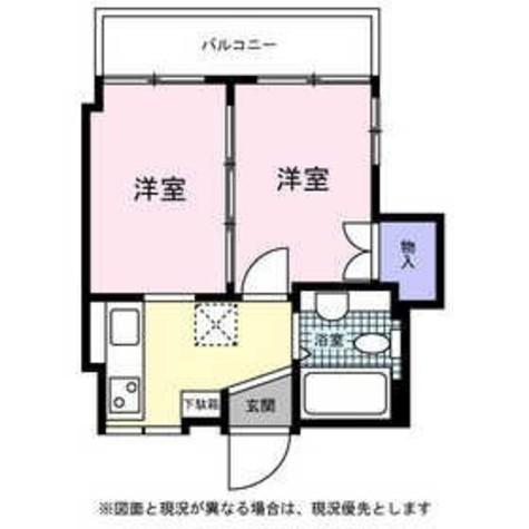 本町スカイハウス / 302 部屋画像1