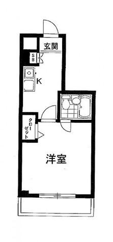 メゾン・ド・ヴィレ市ヶ谷 / 404 部屋画像1