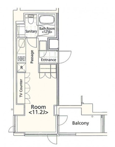 アーデン五反田 / 2階 部屋画像1