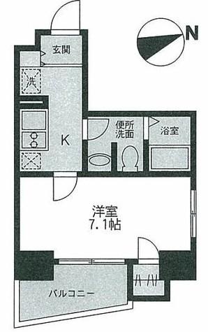 タウンコート / 4階 部屋画像1