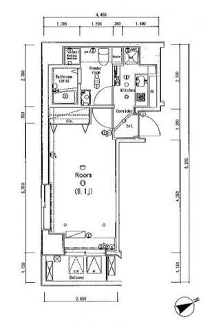 ベレール日本橋兜町 / 2階 部屋画像1