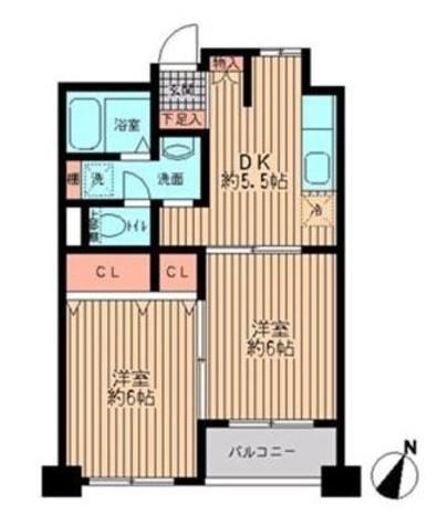 プライムアーバン勝どき(旧アーバンステージ勝どき) / 215 部屋画像1