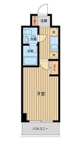 プロスペクト門前仲町 / 2階 部屋画像1