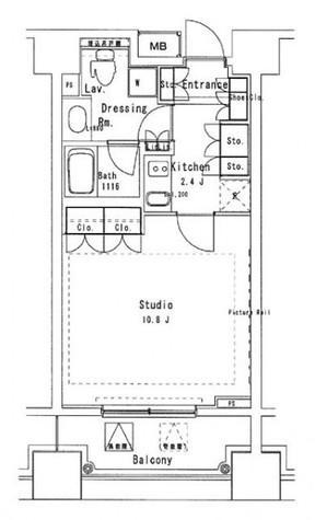 パークアクシス御茶ノ水ステージ / 13階 部屋画像1