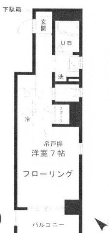 お茶ノ水リバーサイド / 3階 部屋画像1