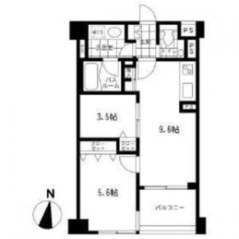 クリオ上野毛ラ・モード / 5階 部屋画像1